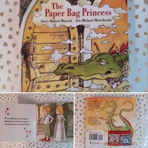 📚 Book 📚 Kids The Paper Bag Princess 2 - 5 years